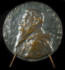 Médaille Francis Jammes poète romancier dramaturge Pays basque conteur medal