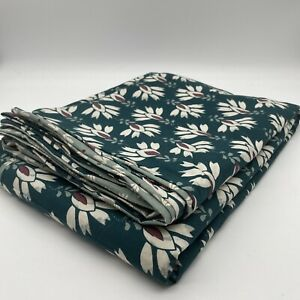 New Daya Duvet Cover 100% Cotton Percale King Size Floral Geometric