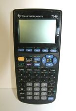 Texas Instruments Calculator TI-89 With Slipcover Tested Works