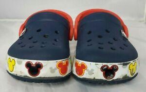 Crocs Kids C7 Light Up Mickey Mouse