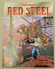Red Steel Savage Baronies AD&D 2nd Ed. Advanced Dungeons & Dragons *BOX SET*