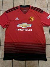 dd576a6c4 Romelu Lukaku Manchester United 18 19 Home Replica Jersey Adidas NWT sz  Large