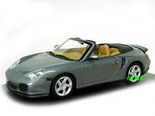 Porsche 911 (996) Turbo Cabriolet 2003-2006 sealgrau met./Minichamps 1:43