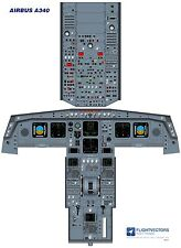 Cockpit - Flight Deck Training Posters 25%-100% - Airbus A330 - from £29.95