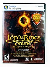 Lord of the Rings Online: Shadows of Angmar (PC, 2007) Games for Windows (170C)