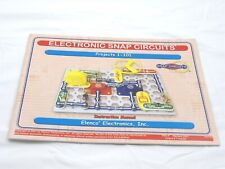 Electronic Snap Circuits Experiments 1-101 Instruction Manual *BOOK ONLY*