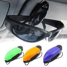 Car Vehicle Accessory Sun Visor Sunglasses Eye Glasses Card Pen Holder Clip DY