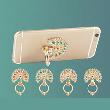 360 Degree Peacock Finger Ring Handy Smartphone Ständer für Telefon JX