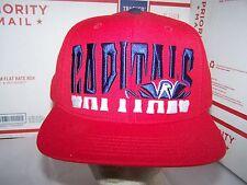 Washington Capitals SNAPBACK ADJUSTABLE HAT/CAP NHL - RED -AMERICAN NEEDLE