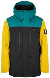 Planks Good Times Insulated Mens Jacket Midnight Teal