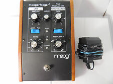 MOOG MF-102 RING MODULATOR EFFECTS PEDAL MOOGERFOOGER MOD w/POWER SUPPLY
