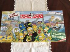 The Simpsons Monopoly New In Open Box