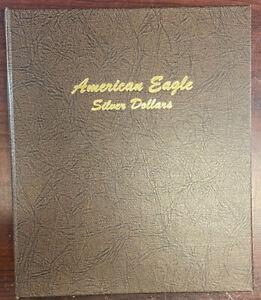 American Silver Eagle 1986-2021 Complete Set No Type 2 In Dansco Album 36 Coins