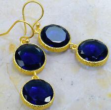 """1/4"""" X54054 Iolite Earrings 2"""
