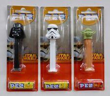 More details for star wars new pez dispenser candy sweet darth vader stormtrooper yoda moc disney