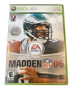 Madden NFL 06 Microsoft Xbox 360 2005