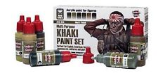 Andrea Miniatures Andrea Color Khaki Paint Set #ACS-014
