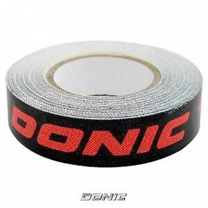 DONIC Kantenband Textil 12mm 5mtr schwarz-rot