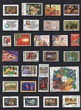 Noël thématique Collection de timbres d'Occasion Ref: ts152