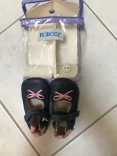 Robeez Blue And Pink Mary Jane Shoes, 12-18 Months, Only Worn Once!