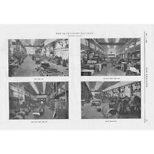 1905 ingeniería 2 Antiguo Impresiones-sandycroft Foundry sobre el río Dee Nr Chester