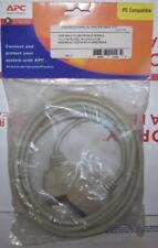 DB25 Male to Centronics 36 male Printer cable 10' New NOS  in original pkg. APC