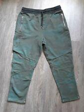 William Rast Large/L Lewis Green Camo Moto Skinny/Slim Fit Joggers/Sweatpants