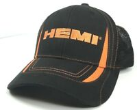 83bcef1fb5ec4 Hat Cap Licensed Dodge Hemi Embroidered Trucker Mesh (Orange