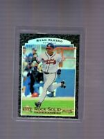 1997 Upper Deck Rock Solid Foundation #RS7 Ryan Klesko Atlanta Braves Insert