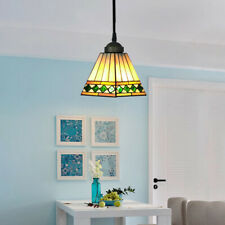 Stained Glass Tiffany Style Ceiling Light Pendant Lamp Handcraft Hanging Fixture