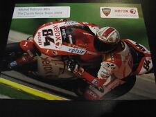 Xerox Ducati WSB Team 2009 #84 Michel Fabrizio (I)