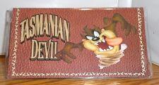 TASMANIAN DEVIL CHECKBOOK COVER. TAZ. LOONEY TUNES CARTOONS......FREE SHIPPING