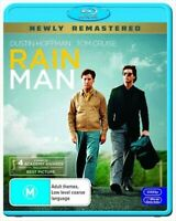 RAINMAN BLURAY NEWLY REMASTERED COPY BRAND NEW WRAPPED AUS/NZ ZONE B