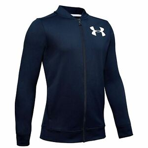 Under Armour Pennant Jacket 2.0 Youngster Boys Performance Coat Top Full Length