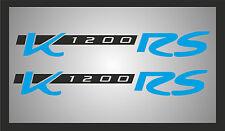 Aufkleber für BMW K1200RS Tank Verkleidung K 1200 RS / schwarz-blau