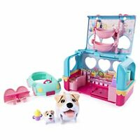 Vacation Camper Playset Ideal for an Adorable and Relaxing Puppy Camping Trip