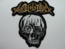 TOXIC HOLOCAUST  EMBROIDERED PATCH