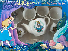 Disney Productions Alice In Wonderland Toy China Tea Set Made Japan incomplete