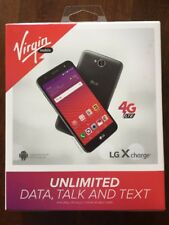 "LG X Charge 5.5"" Android 16GB LTE Smartphone - Virgin Mobile - New Sealed"