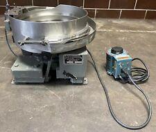 Hendricks Engineering 6954 15 Vibratory Bowl Feeder Withstaco Speed Control 120v