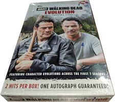 Walking Dead Evolution Factory Sealed Trading Card Hobby Box