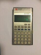 Vintage Retro Sharp Elsi Mate Calculator EL - 8127