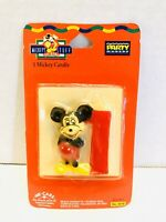 Vintage Disney Mickey Mouse 1st Birthday Candle Sealed!