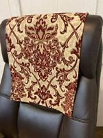 17x27 By: Bittlemen Co. Headrest Cover initialW for furniture sofa loveseat slipcovers furniture protectors recliners