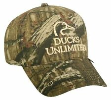 Ducks Unlimited DU21X Cap Camo Mossy Oak Infinity Adjustable Strap Closure Hat