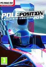 BULK LOT 100 PC NEW SEALED Games * POLE POSITION 2012 - F1 MANAGEMENT SIMULATION