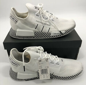 Adidas NMD R1 V2 'Dazzle Camo White' Sneakers (FY2105) Men's 11