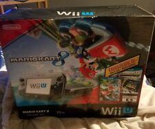 Nintendo Wii U, 32gb Deluxe Console Game Pad Mario Kart 8 Bundle Nintendo Land