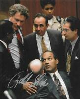 Robert Shapiro lawyer autograph 8x10 Trail of the Century signed O.J. Simpson