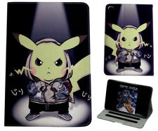 Para Apple iPad Mini 1 2 3 4 gran Pokemon Pikachu Anime Inteligente De pie Estuche Cubierta